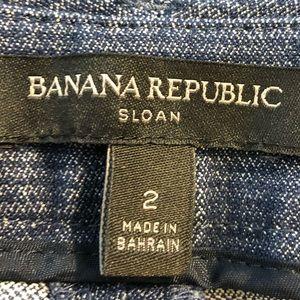 Banana Republic Pants - Banana Republic Sloan crop pants size 2
